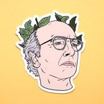 Larry David Sticker & Magnet  •  Curb Your Enthusiasm  •  Seinfeld  •  Pretty Pretty Good  •  Fridge Magnet  •  Vinyl Sticker
