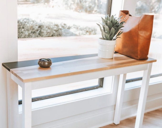 Accent Entryway Table | Console Table | Sofa Table | Modern | Minimalist