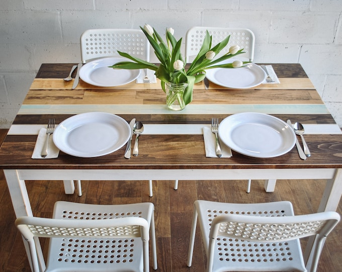 Small Dining Table | Farmhouse Table | Kitchen Table | Farmhouse Dining Table
