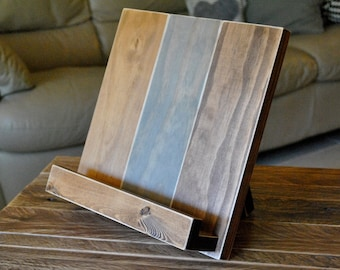 Fabulous Wood Ipad Stand Etsy Home Interior And Landscaping Palasignezvosmurscom
