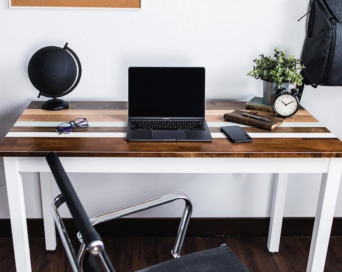 Farmhouse Desk or Table - Laptop Desk - Wood Table