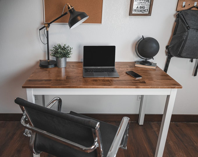 Solid Maple Wood Desk