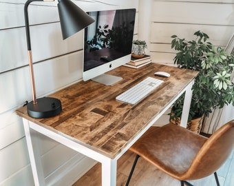 The Wren | Solid Wood Desk | Laptop Desk