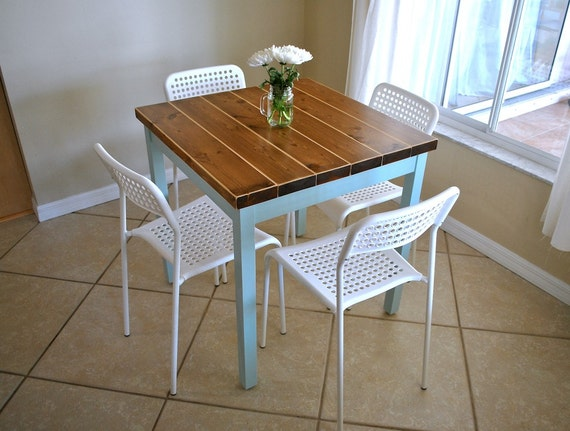 Farmhouse Breakfast Table Only Small Dining