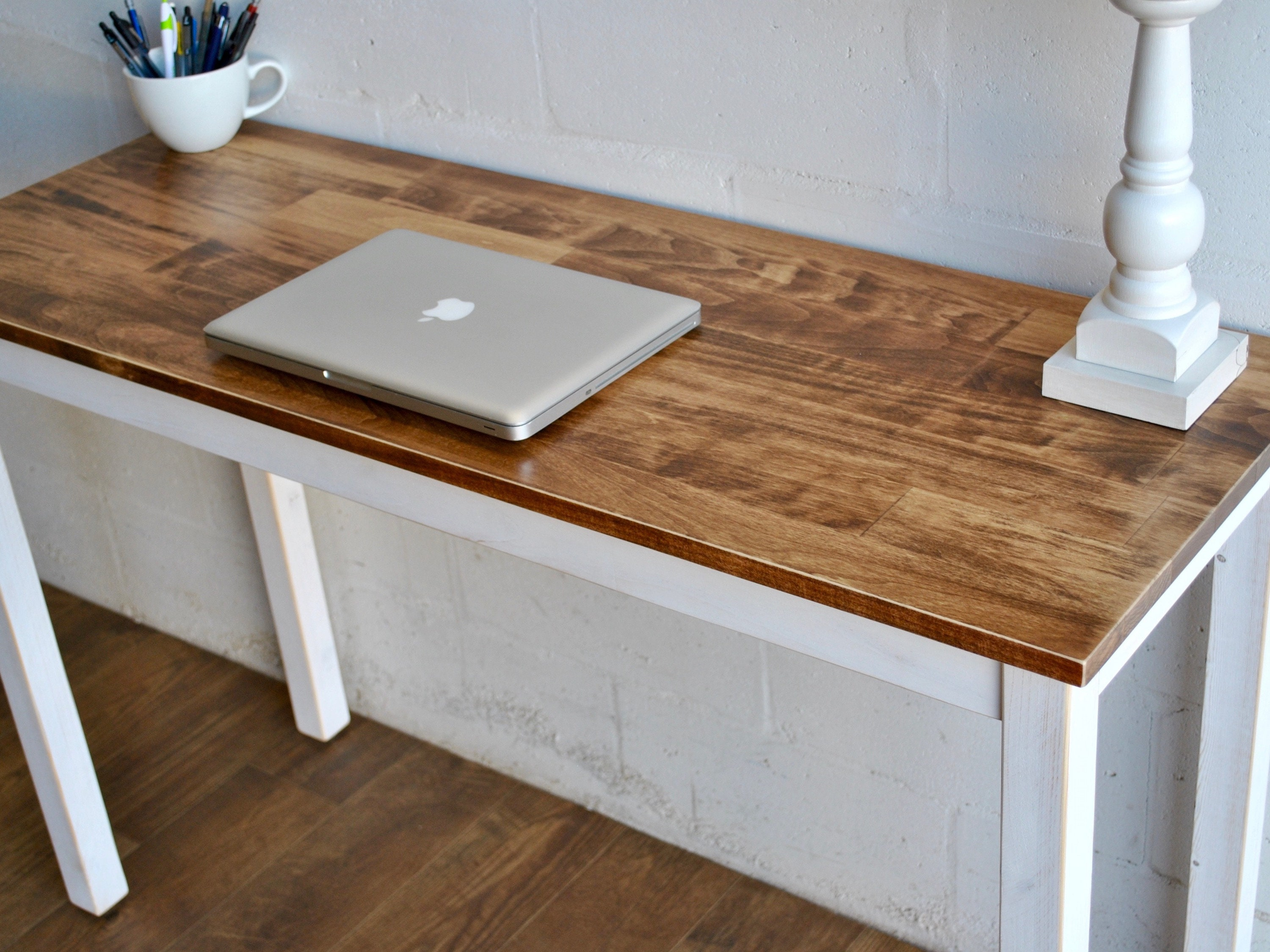 Cool Made To Order Solid Wood Desk Or Table Laptop Desk Download Free Architecture Designs Scobabritishbridgeorg