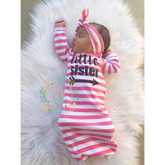 67ec5ccd26ad5 Rose petite soeur bébé fille robe stripe robe bébé robe venir