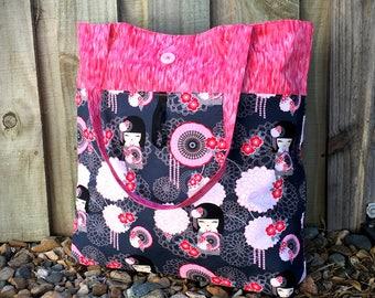 Reusable grocery bag pattern, reusable shopping bag pattern, market tote PDF, grocery bag pattern, shopping tote, reusable bag PDF
