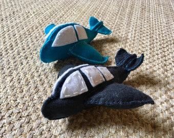 Airplane; Stuffed Airplane; Plush Airplane; Toy Airplane; Felt Airplane