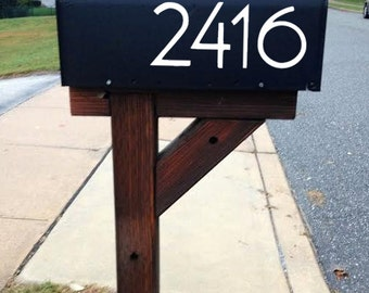 Stickers sticker decals mailbox numbers panel-colors to choose