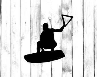 Wakeboard Decal Etsy