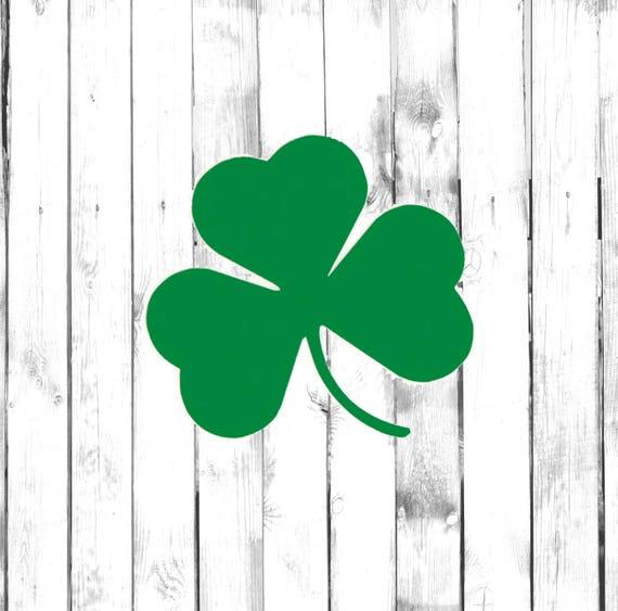 "Patric Car Bumper Window Sticker Decal 5/""X4/"" Lucky Shamrock Leaf Irish St"