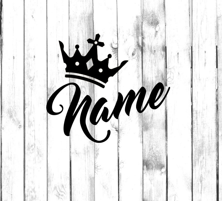 Details about  /Wall Vinyl Decal Stickers Crown/'s King Sign Kingdom Home Decor Unique n1277