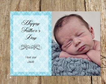 Customized Father's Day Photo Card, Several Designs Available