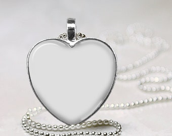 jewelry digital photo template gun metal heart shape pendant 1 etsy