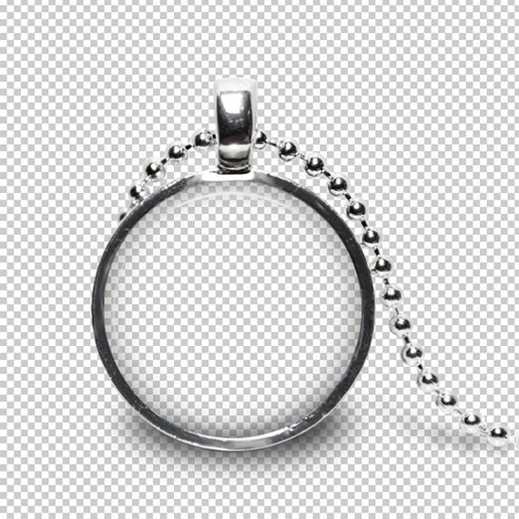 digital photo template for silver round pendant 1 inch setting etsy
