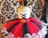 Girl Pirate Costume Pirate Petti Costume Halloween Costumes Girls 39 Dresses Baby Girl Dresses Pirate Dress Pirate Day Costume Petti tutus