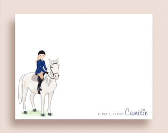 Horse Note Card Note Card Blank Equine Note Card Horse Lover Note Card Running Horse Note Card Gift for Horse Lover,