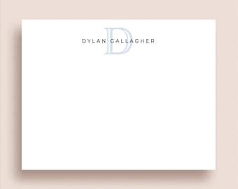 Personalized Stationery - Monogram Thank You Cards - Monogram Stationery - Flat Note Cards - Monogram Note Cards - Personalized Note Cards
