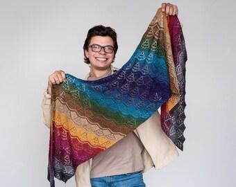 River City Wrap - PDF Knitting Pattern