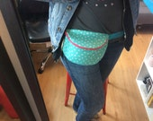 Fannypack! Blue star fabr...