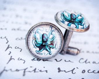 Cufflinks, Octopus Cufflinks