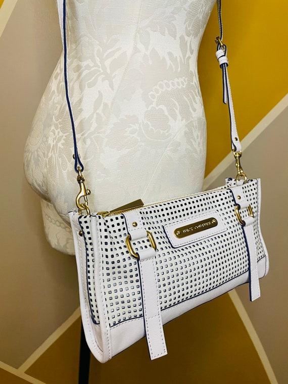 White Designer Clutch Juicy Couture