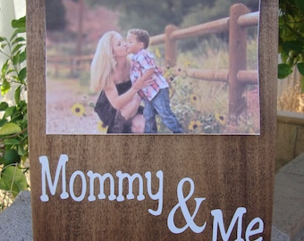 Mommy And Me Frame Etsy
