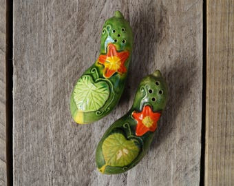 Cucumber Salt and Pepper Shakers - Japan