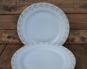 Porzellanfabrik Marktredwitz, Jaeger & Co. Bavaria Dinner Plates - Set of 5