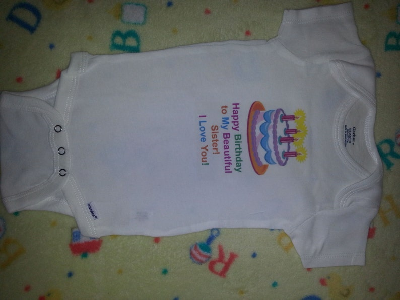 Baby onesie with saying