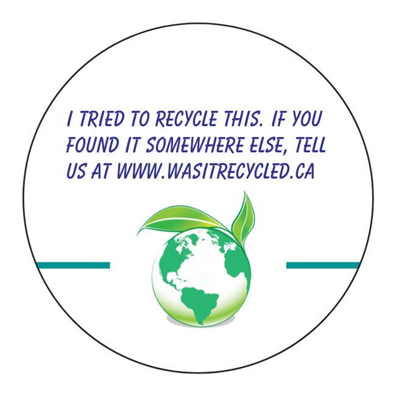 Recyclable tracking stickers image 0