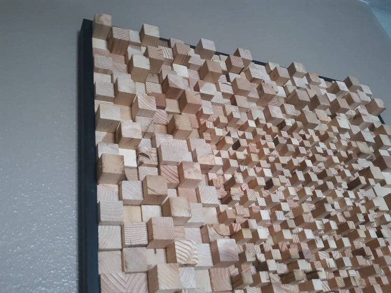 Art Home Decor Wooden Wall Art Wood Sign Wood Wall Art Block Art Rustic Art Ready To Ship