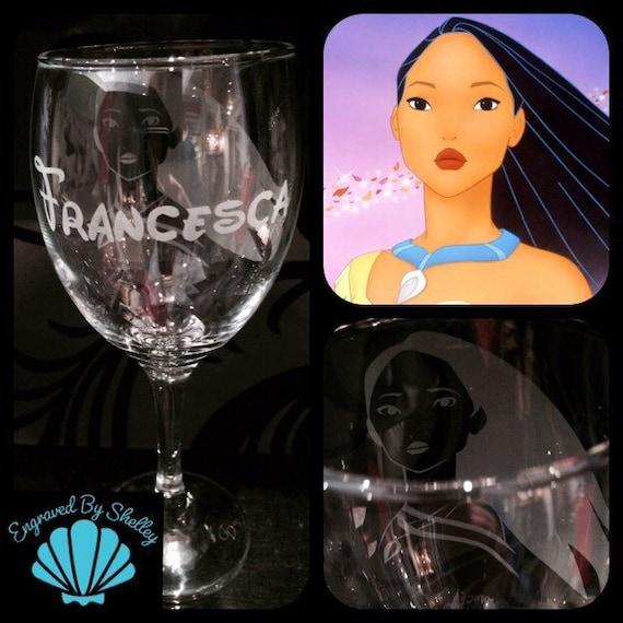 Disney Dumbo hand engraved wine glass free personalisation /& gift bag