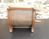 Antique French wooden Butter Churn - Tabletop Butter Churn