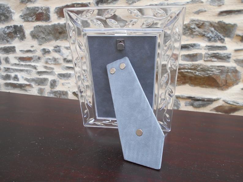 Boxed Beautiful Italian crystal photo frame