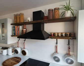 Kitchen pan hooks | Etsy