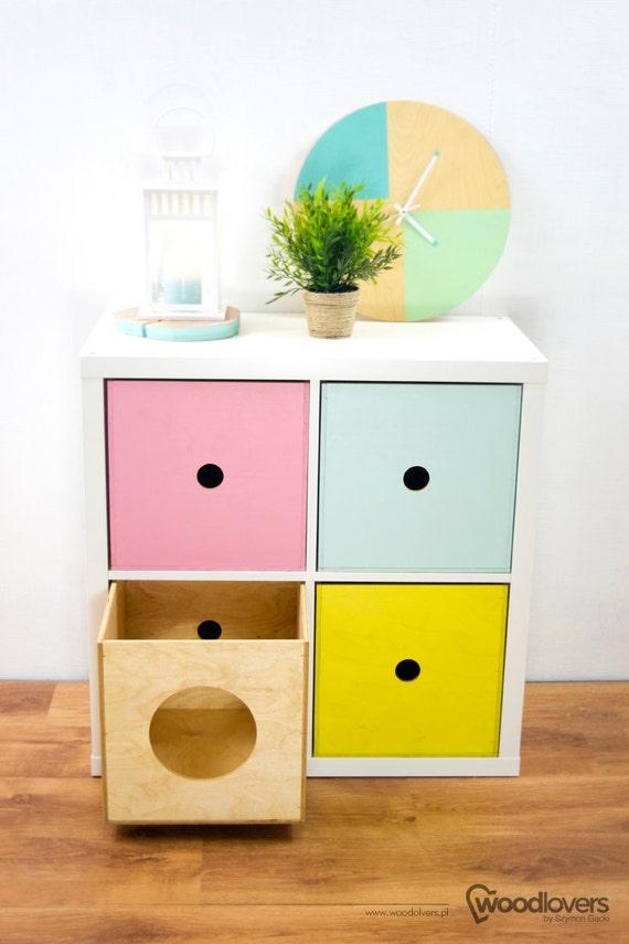 Expectit Cat Holzkiste Einsatz Für Regal Schrank Ikea Etsy