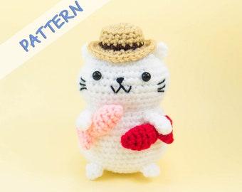 Amigurumi Crochet Cats: DIY Tutorial & Pattern | aboutGoodness.com | 270x340