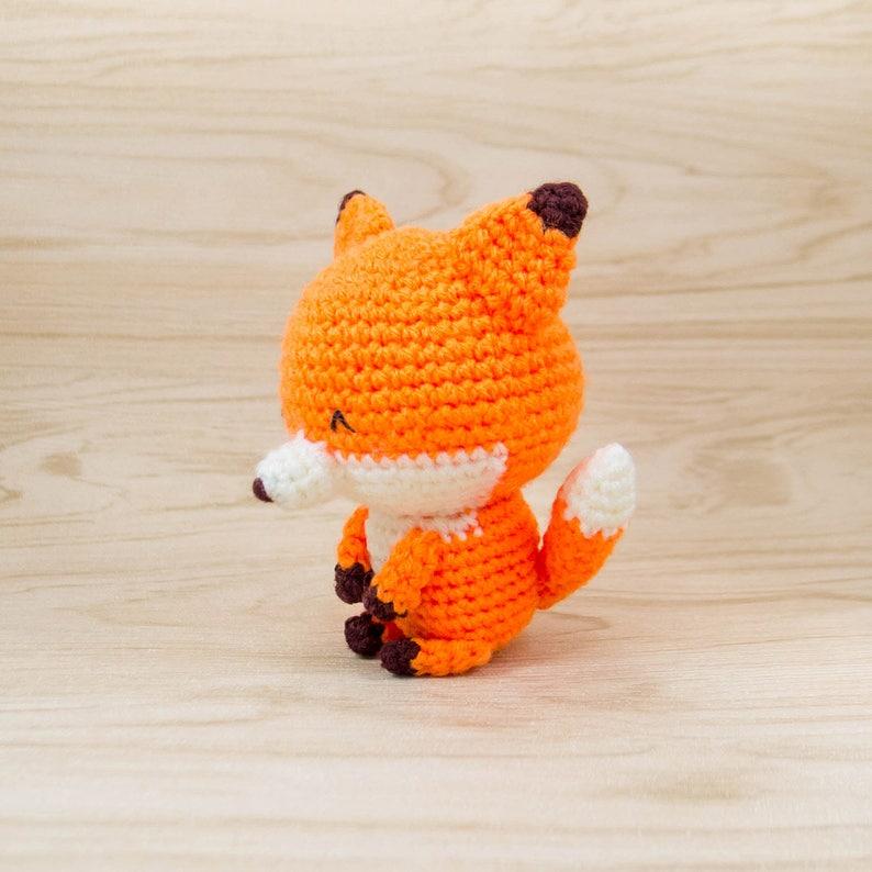 Crochet Animal Crochet Fox Plush | from theLoveofCats on Etsy | 794x794
