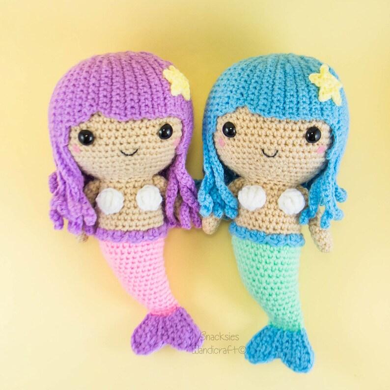 Free Crochet Pattern for an Ariel Inspired Mermaid Amigurumi ...   794x794