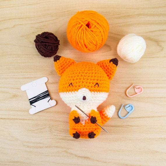 Amigurumi-Kit Fox-häkeln-Kit Fox Bausatz Fuchs Fuchs | Etsy