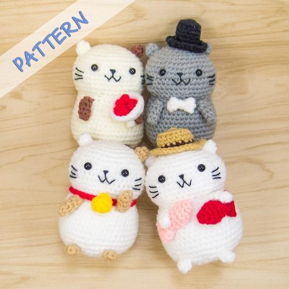 Crochet a Cat - Free Crochet Pattern - Yarnplaza.com | For ... | 570x570