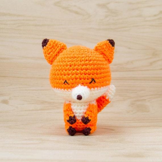 Fuchs Plüsch ausgestopften Fuchs Amigurumi-Fuchs häkeln