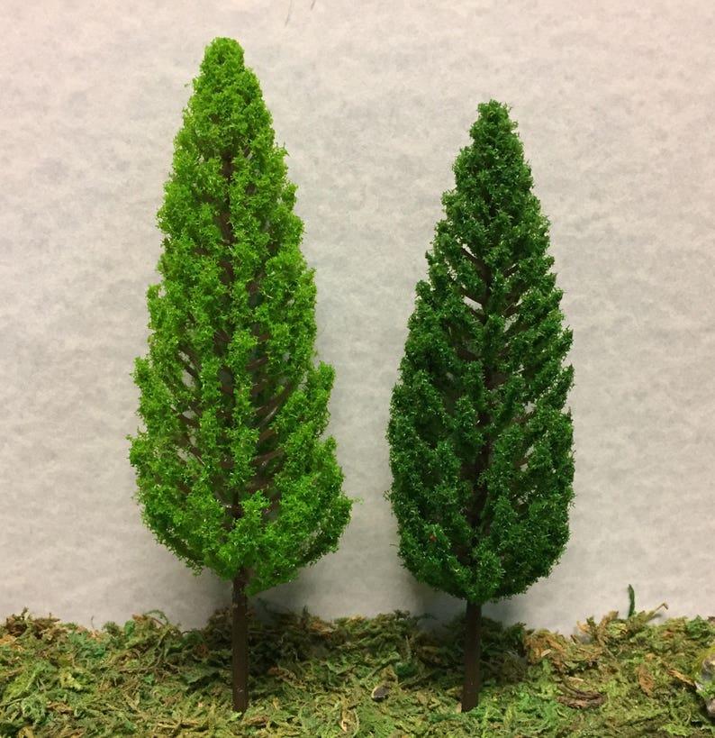 Miniature Light Green Or Dark Green Pine Tree Miniature Etsy