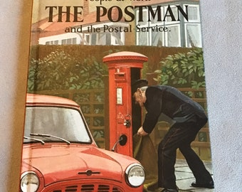 Vintage Ladybird book The Postman at work