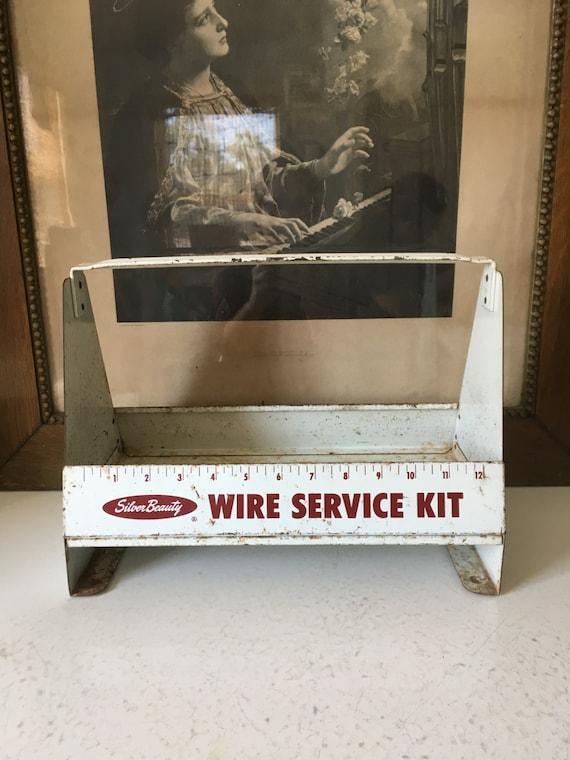 VTG Triple A Specialty Co. Silver Beauty Wire Service Kit   Etsy