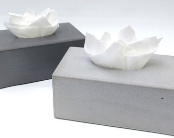 Tissue Black white facial