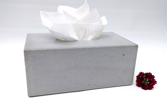 Geliefde Concrete Tissue Box Cover Kleenex Tissue Box Cover | Etsy @MH83
