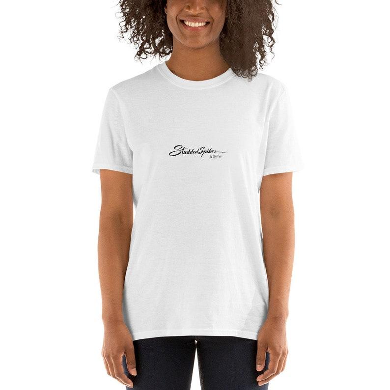 Studdedspikes by Djamee Signature Short-Sleeve Unisex T-Shirt image 0