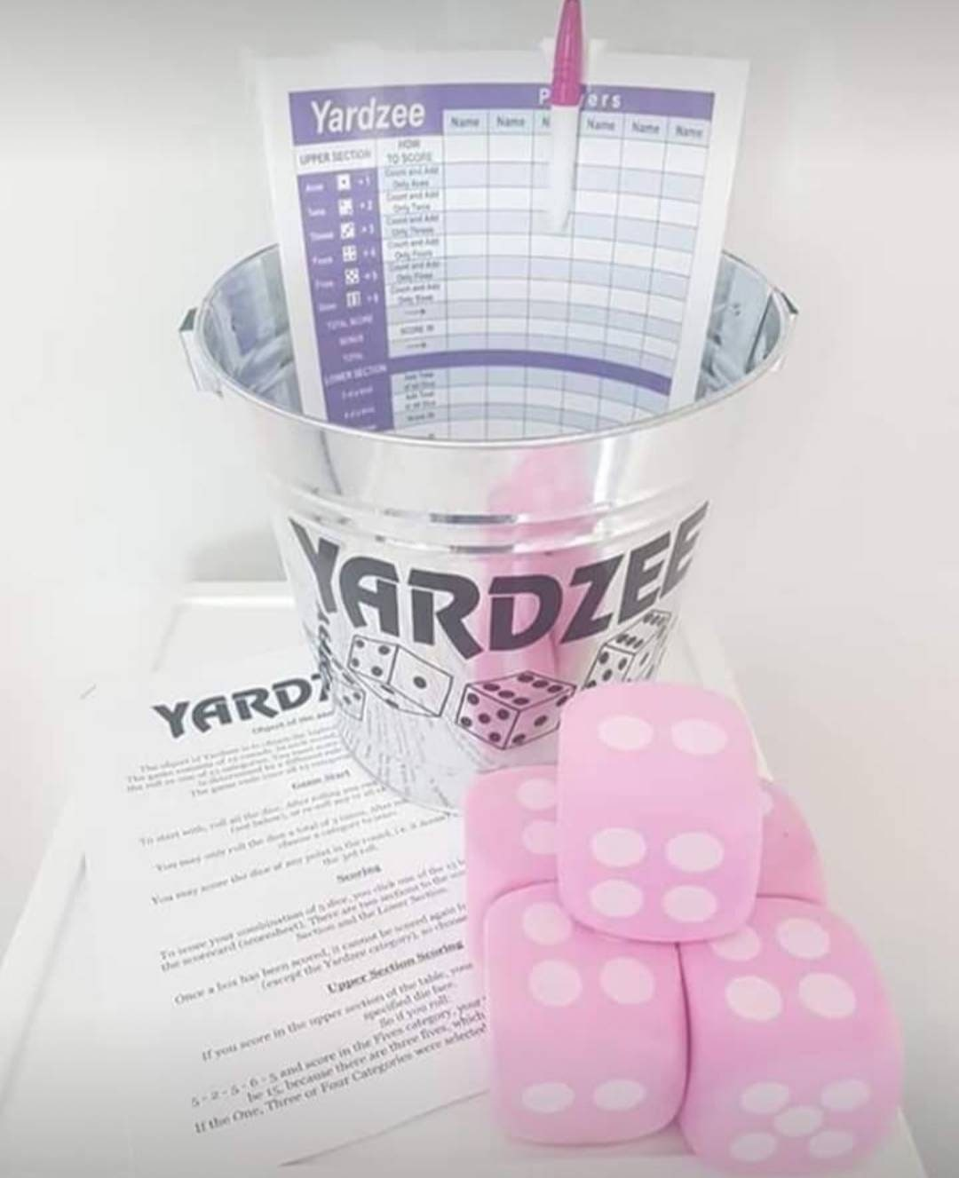 Yardzee Outdoor Game